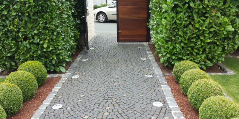 Pflasterarbeiten und Weggestaltung in Hanau. Meisterbau - Solides Handwerk im Rhein-Main-Gebiet