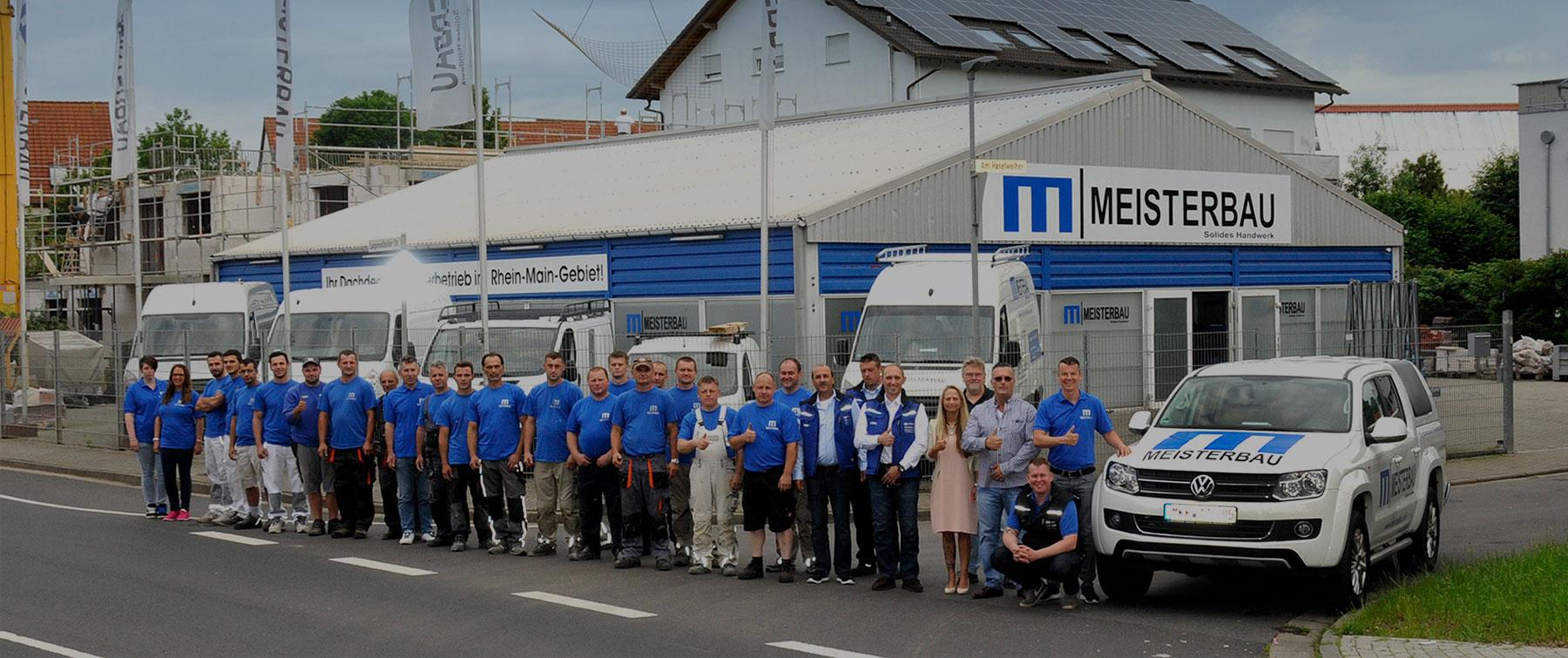 Meisterbau Handwerk Fachbetrieb in Rhein-Main Team Langenselbold